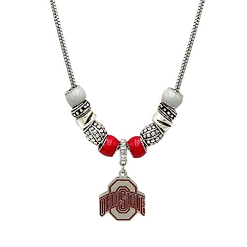 Rosemarie collections womens osu charm pendant necklace the ohio rosemarie collections womens osu charm pendant necklace the ohio state university mvps superstores aloadofball Image collections