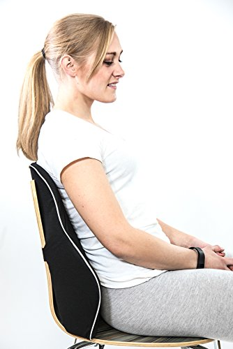 office chair neck support attachment covers for dining room chairs with rounded back lumbar and pillow | orthopedic memory foam cushion lower ...