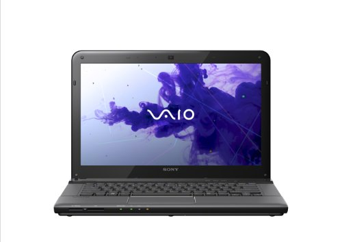 Sony VAIO E Series SVE14116FXB 14-Inch Laptop (Sharkskin Black)