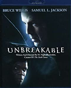 """Cover of """"Unbreakable [Blu-ray]"""""""