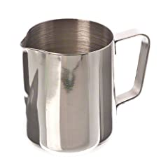 Update International EP-12 Stainless Steel Frothing Pitcher 12-Ounce