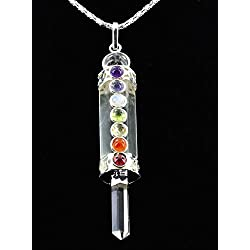 Crystal Quartz Chakra Healing & Meditation pendant