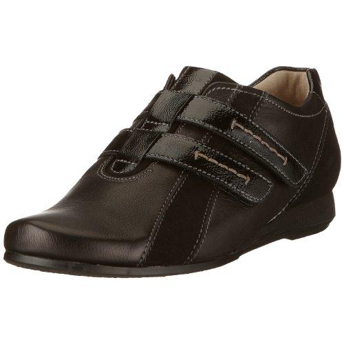 Hassia 0-302054-0100 Riva, Weite G, Damen Sneaker, Schwarz (schwarz 0100), EU 38, (UK 5)