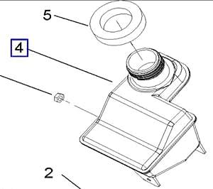 105-8952 OEM Toro Snowthrower Gas Tank CCR 2450 CCR 3650