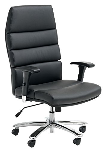 desk chair jysk best office for back pain price jesby black faux leather cheap