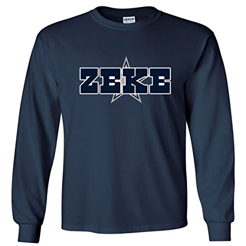 LONG SLEEVE Navy Zeke Dallas