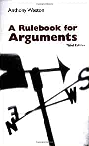 Amazon.com: A Rulebook for Arguments (9780872205529