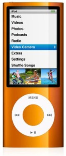 Apple iPod nano 第5世代 8GB オレンジ MC046J/A 最新モデル