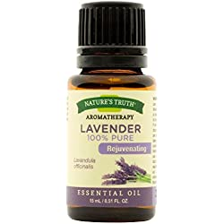 Nature's Truth Aromatherapy 100% Pure Essential Oil, Lavender, 0.51 Fluid Ounce