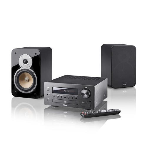 teufel kombo 42 mini hifi anlage stereo schwarz test. Black Bedroom Furniture Sets. Home Design Ideas