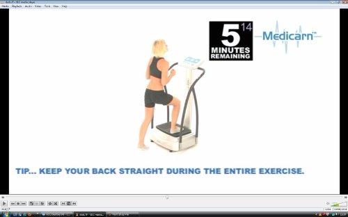 Best Value For Medicarn ® Power Vibration Plate Workout DVD