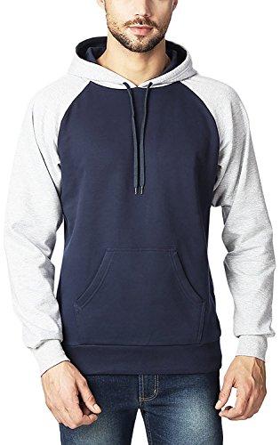 Rodid Full Sleeve Solid Men's Sweatshirt (B-HWSSRSL-GM-XL)