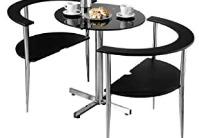Amazon Black Dining Table Home Kitchen