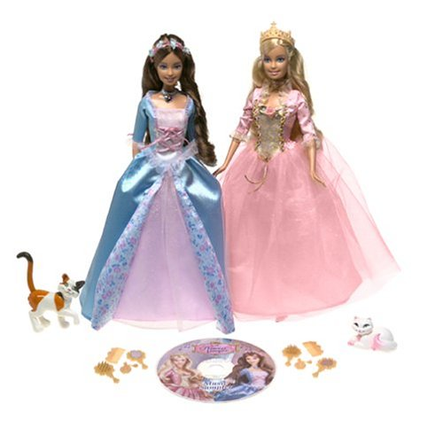 Baries and the Princess and the Pauper Princess Anneliese and Erika Musical Gift Set