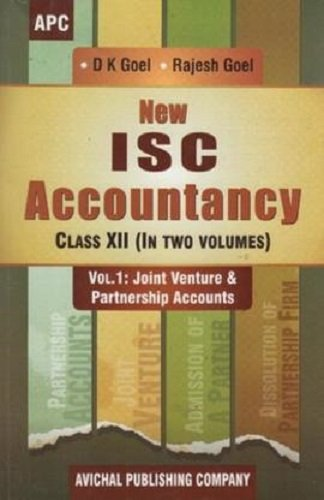 New ISC Accountancy Set of 2 Volumes - 12