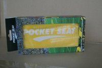 POCKETSEAT Inflatable Seat Cushion, Yellow, 13x10x1.5 ...