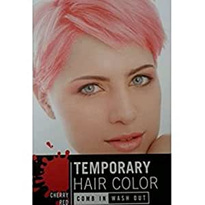 temporary hair color b in wash out cherry red beauty