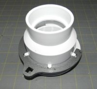 Plumbing Wrench, Kitchen Strainer Retainer Nut/round(white ...