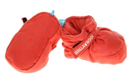 Wallaboo WSS.1109.1501 - Babyschuhe Nummer 9, 0-6 m rot