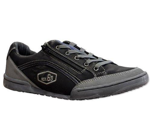 s.Oliver schwarze Sneaker Herren - Schnürer - schwarz , Schuhgröße 43