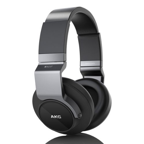 AKG Bluetooth ワイヤレスオーバーイヤーヘッドホン K845BT ブラック K845BTBLK