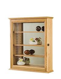 Amazon.com: Display Case- Curio Cabinet- Wall Hanging ...