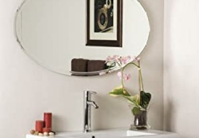 Amazon Oval Mirror Bathroom Home Kitchen