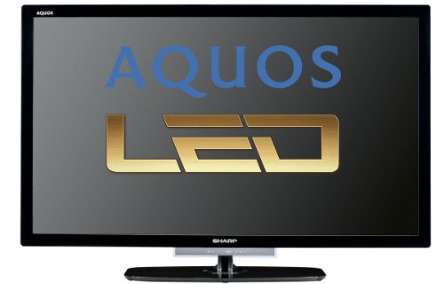 Sharp LC40LE632E 102 cm (40 Zoll) LED-Backlight-Fernseher, Energieeffizienzklasse A+ (Full-HD, 100Hz, DVB-T/-C/-S) schwarz