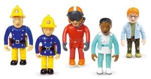 Fireman-Sam-Set-of-5-Articulated-Figures