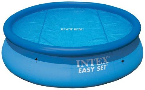 Intex Krystal Clear 15-Foot Solar Pool Cover