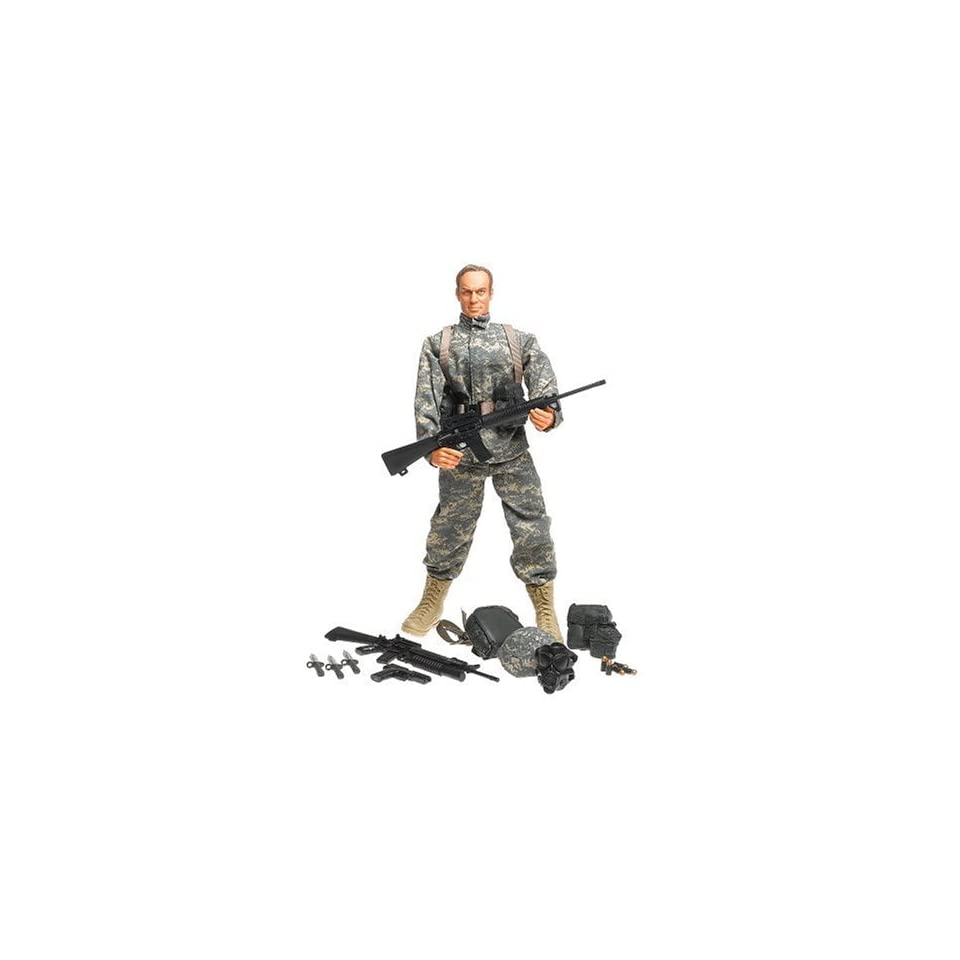 Elite Force 12 Collector Modern Military Figure US Army