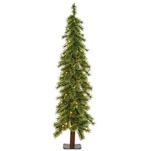 !Cheap 239 PreLit Cashmere Alpine Artificial Christmas
