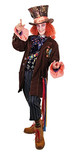 elope Disney's Alice Through the Looking Glass Mad Hatter Replica Costume Mens L/XL