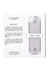 Clear Plastic Tie Stay | Tiealign (5 Pack) Tie Stay