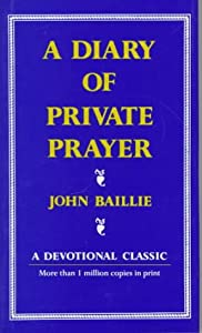 """Cover of """"Diary Of Private Prayer (Scribn..."""