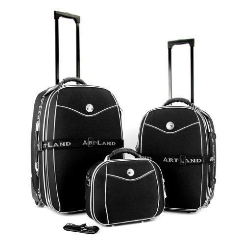 exkl rob reisekoffer set kofferset koffer trolley neu. Black Bedroom Furniture Sets. Home Design Ideas