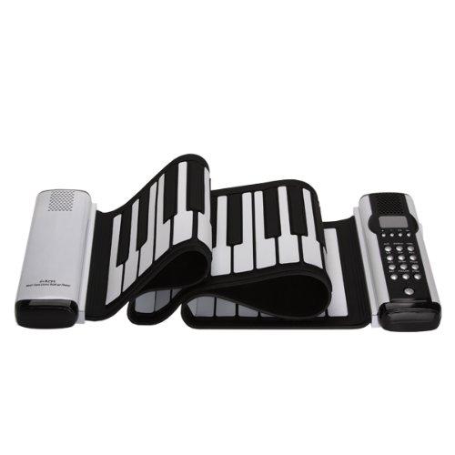 Lujex New 61 Keys Roll-Up Soft Keyboard Piano MIDI Folding Electronic Piano Double Sounder