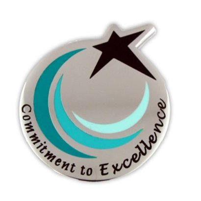 Commitment-To-Excellence-Recognition-Service-Star-Lapel-Pin