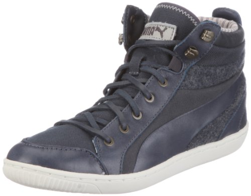 Puma Abbey Military Wn's 352639, Damen Sneaker, Grau (ebony 01), EU 37 (UK 4) (US 6.5)