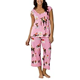 Product Image Nick & Nora® Pajama Set - Pink Cowgirls