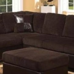 Sectional Sofa Purchase Where To Get Cover In Singapore Acme 55975 Connell With Pillows Chocolate Corduroy And Espresso