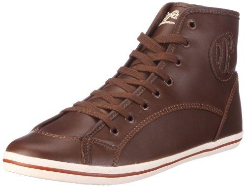 Buffalo 520-V14414 DERBY PU K 122758, Damen, Sneaker, Braun (BROWN365), EU 40