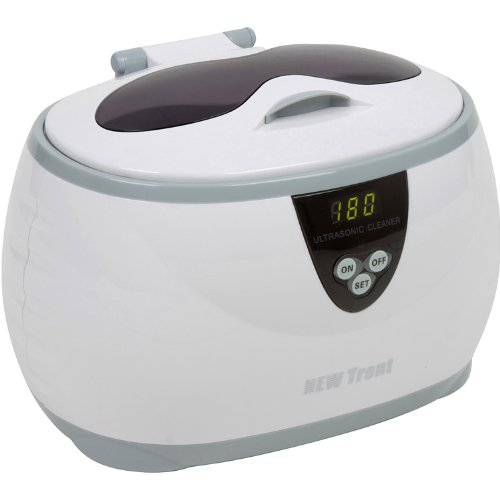 New Trent CD-3800 Digital Ultrasonic for Jewelry, Eyeglass, and Dentures Cleaner