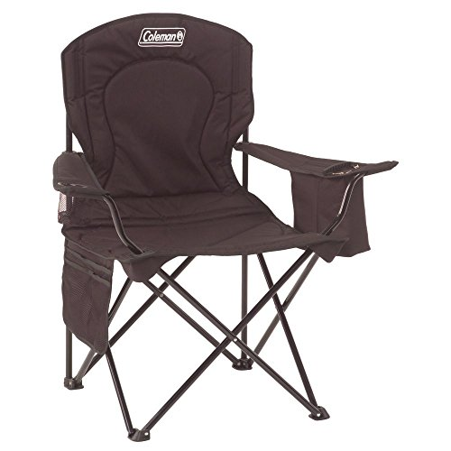 oversized folding quad chair executive leather heavy duty camping chairs for big people over 250 pounds – diy home decor and gifts