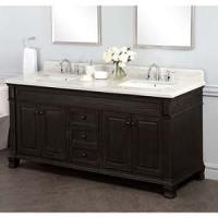 """Amazon.com - Kingsley 72"""" Double Sink Vanity with Alpine ..."""