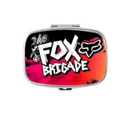 Fox Racing Logo Custom Fashion Pill Case Box Decorative ...