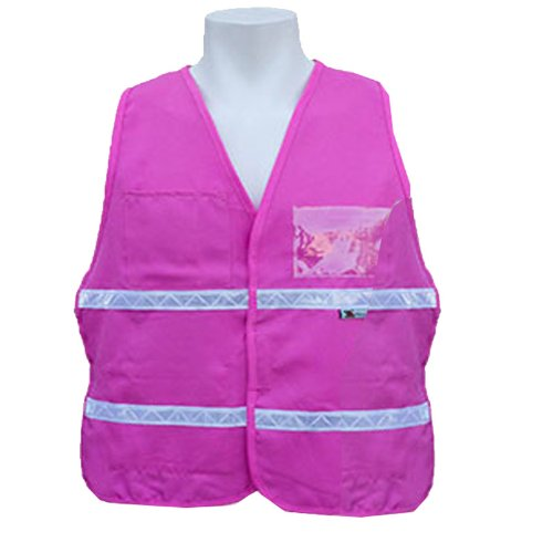 folding chair job lot ergonomic norway best pink safety vest - reviews of high visibility reflective vests