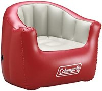 Amazon.com : Coleman Inflatable Adult Chair (Red) : Sports ...