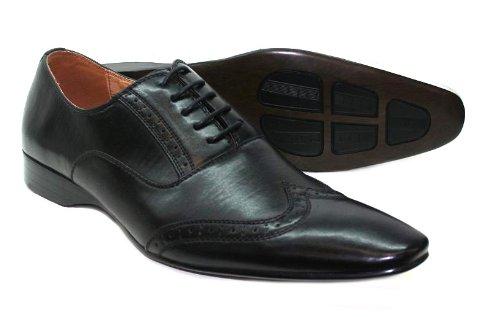 chaussures italiennes homme noir et blanc