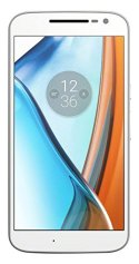 Lenovo Moto G4 - Smartphone Android 6.0 de 5.5'' (Full HD, 4G, cámara de 13 MP, 2 GB de RAM, 16 GB, Qualcomm Snapdragon 1.5 GHz), color blanco  data-recalc-dims=